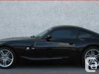 Up for Sale 2007 BMW Z4 M Coupe Hard to find very rare