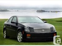 WHITEROCK,BC 2007 Cadillac CTS This luxury sport sedan