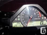Make Honda Model Cbr Year 2007 kms 25153 Original