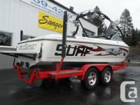 AWESOME SURF BOAT!   TRIPLE BALLAST SYSTEM, SET UP FOR