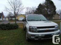 Make Chevrolet Model TrailBlazer Colour silver kms