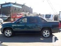 Make Chevrolet Model Avalanche Year 2007 Colour Blue