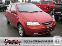 The 2007 Chevrolet Aveo LS hatchback features tilt