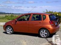 2007 Chevtolet Aveo . One owner local car. Aveo LT
