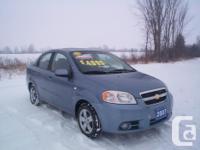 Make Chevrolet Model Aveo Year 2007 Colour Blue kms