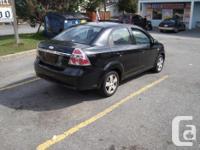 Make Chevrolet Model Aveo Year 2007 Colour Black kms