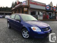 Make Chevrolet Model Cobalt Year 2007 Colour Blue kms