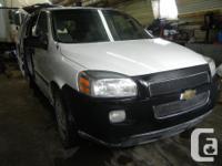 Make Chevrolet Model Uplander Year 2007 Colour White
