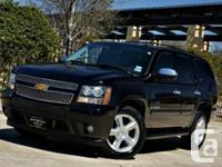 2007 Chevrolet Tahoe LTZ 4X4 LOADED BLACK ON GREY