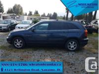 Make Chrysler Model Pacifica Year 2007 Colour Blue kms