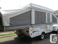2007 CLIPPER SPORT 107 - 10 foot box Tent Camper (21