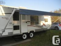 2007 Coachman travel trailer 24 ft. cabin 26 hitch to