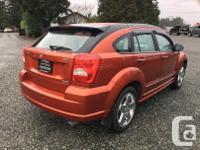 Make Dodge Model Caliber Year 2007 Colour Orange kms