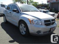 Make Dodge Model Caliber Year 2007 Colour Silver kms