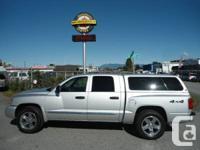 2007 Dodge Dakota SLT 4WD Truck, 128,087km, 2007 DODGE