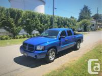Make Dodge Model Dakota Year 2007 Colour BLUE kms