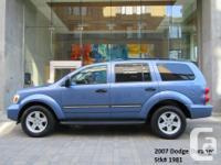 Make Dodge Model Durango Year 2007 Colour Blue kms