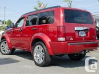 Make Dodge Model Nitro Year 2007 Colour Red kms 189097