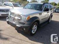 Make Dodge Model Nitro Year 2007 Colour Silver kms
