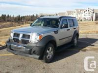 2007 Dodge Nitro SXT- For Sale.  Vehicle is in