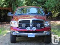 Make Dodge Year 2007 Colour Red Trans Automatic kms