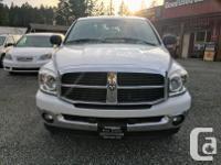Make Dodge Model Ram Year 2007 Colour White kms 212000