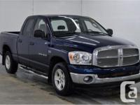 Make Dodge Model Ram 1500 Year 2007 Colour Patriot Blue