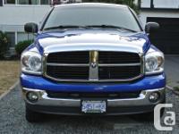 Make Dodge Model Ram 1500 Year 2007 Colour Blue kms