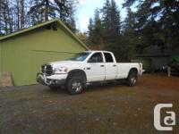 Make Dodge Model Ram 2500 Colour White Trans Automatic