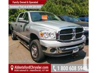 Make Dodge Model Ram 3500 Year 2007 Colour Silver kms