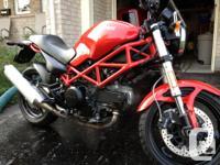 2007 Ducati Monster 695 - USA Model Low km's (13,200)