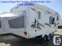 Very rare unit with a tent at the back. This 19 foot