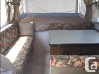 2007 Fleetwood Cheyenne tent trailer, king size bed in