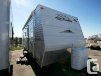 2007 JAYCO JAY AIR TRAVEL 26 BHS. Travel Trailer.