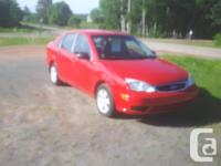 Make Ford Model Focus Year 2007 Colour red kms 150000