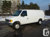 VERY NICE WORKING TRUCK, 2007 FORD E 250 , 8 CYL 4,6L