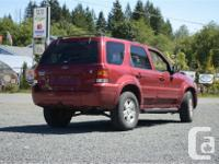 Make Ford Model Escape Year 2007 Colour Red kms 168000