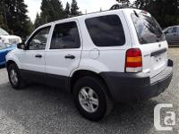 Make Ford Model Escape Year 2007 Colour White kms