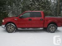 Make Ford Model F-150 SuperCrew Year 2007 Colour red