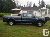 Make Ford Model F-250 Year 2007 Colour Blue kms 186043