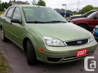 Make Ford Model Focus Year 2007 Colour GREEN kms