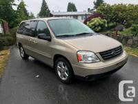 Make Ford Model Freestar Year 2007 Colour GOLD kms