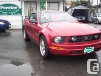 Make. Ford. Model. Mustang. Year. 2007. Colour. Red.