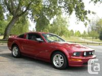 Make Ford Model Mustang Year 2007 Colour Red kms 84000