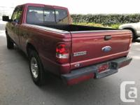 One owner Ranger with only 144000 km 3.0 L V-6 with a 5