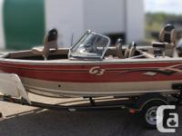 Boat, Motor, Trailer & Cover ALL INCLUDED! = $22,995