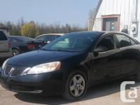 Make Pontiac Model G6 Year 2007 Colour Black kms