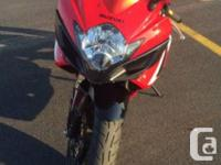 2007 GSXR 600. Red/White in colour, only 16,000 KM. All