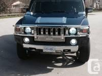 have 2007 h2 for sale with 56k its got custom air