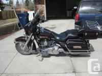 This 2007 Electra Glide Classis looks mint and